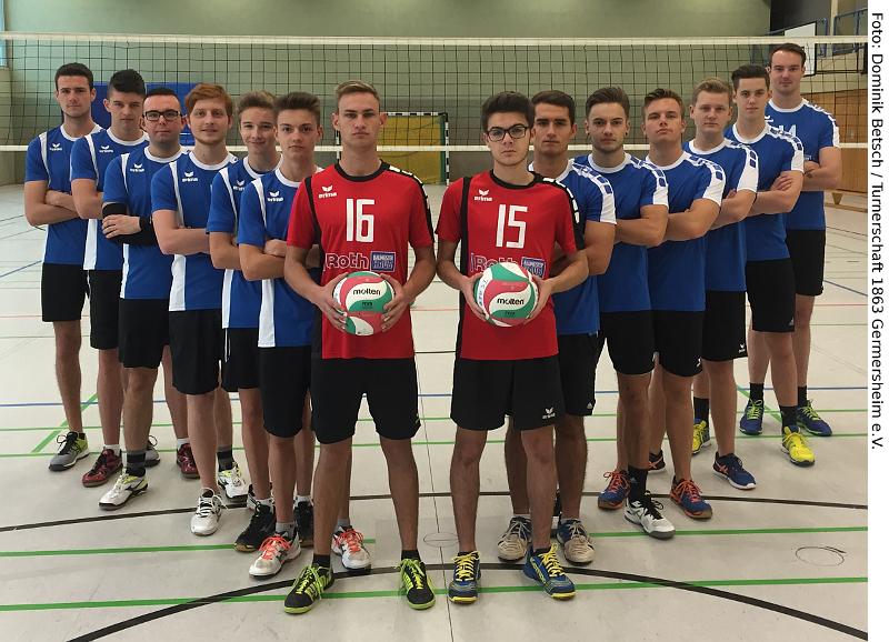 Die männliche U20 Jugend!